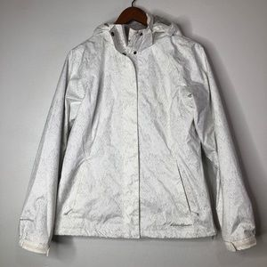 Eddie Bauer Women's White Weatheredge Jacket Small